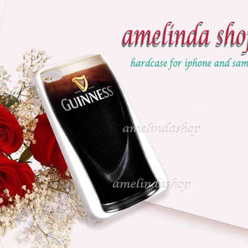guinness beer for iphone 4/4s case, iphone 5/5s case, iphone 5c case, samsung s3 i9300 case, samsung s4 i9500 case
