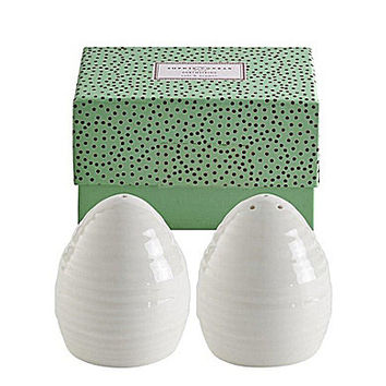 Sophie Conran for Portmeirion White Dinnerware Salt & Pepper Set