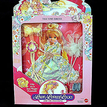 1980's LADY LOVELY LOCKS doll Clothes New in package Mattel