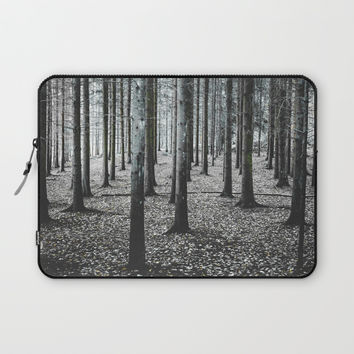 Coma forest Laptop Sleeve by happymelvin