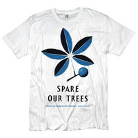 Spare Our Trees Hippie T-shirt