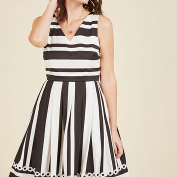 Dynamic Style Devotion A-Line Dress | Mod Retro Vintage Dresses | ModCloth.com