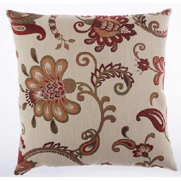 Canaan Company 2133 Maelle Chenille 24 x 24 Pillow