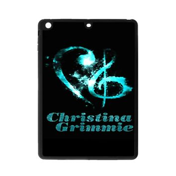 Christina Grimmie Glitter Logo iPad Air 2 Case