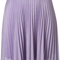 Airtex Pleated Skirt - Skirts - Clothing - Topshop