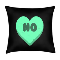 NO HEART PILLOW