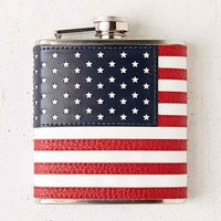 USA Flag Flask