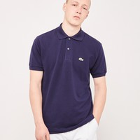Lacoste Short Sleeve Polo Shirt Navy