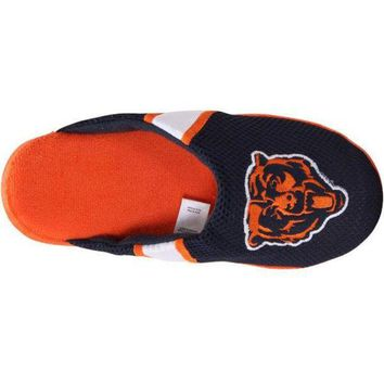 ONETOW Men's Chicago Bears NFL Jersey Slippers