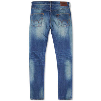 Edwin Jeans Ed-55 Relaxed Tapered Jeans - Shore Wash Compact Indigo