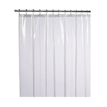 Mildew Resistant Anti-Bacterial Shower Curtain Liner  Eco-Friendly Decoration