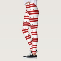 Leggings with flag of Washington DC, USA