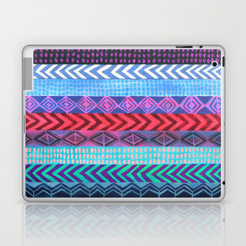 PATTERN {Peru Stripe} Laptop & iPad Skin by Schatzi Brown