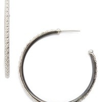 Armenta Old World Midnight Hoop Earrings | Nordstrom