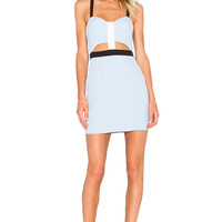 NBD X Naven Twins Shape Up Bodycon Dress in Periwinkle