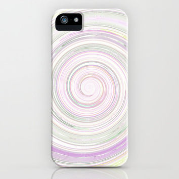 Re-Created Spin Painting No. 4 iPhone & iPod Case by Robert Lee