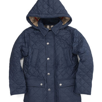 Hooded Quilted Jacket,