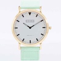Shore Project Portland Nylon Watch in Mint - Urban Outfitters