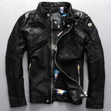 Authentic Diesel Leather Jacket
