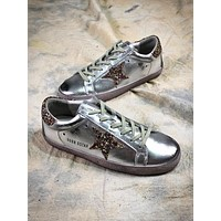 Ggdb Golden Goose Uomo Donna Silver Shoes Sneakers