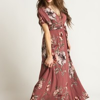 Bethany Rose Floral Maxi Dress