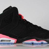 Air Jordan Big Kid's 6 VI GS Black Infrared 2014