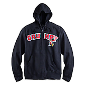 Grumpy Zip Hoodie for Adults