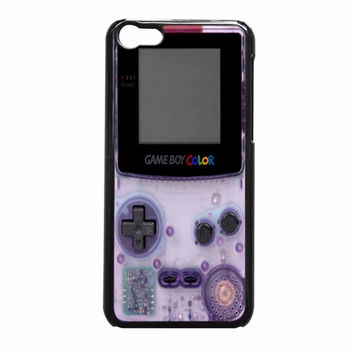 Retro Purple Gameboy Nintendo iPhone 5c Case