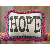 Hope Word Pillow