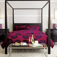 Marimekko?- Poloneesi Ruby Bed Linens | Crate&Barrel