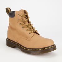 Dr Martens 939 6 Eye Womens Hiker Boots Tan  In Sizes