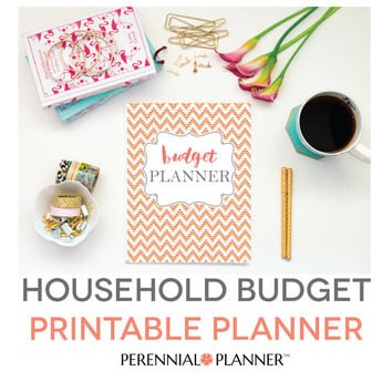 Budget Planner Printable, Aztec Design, Monthly Household Budget Form, Financial Planning Set, Family Money Tracker, Digital, Fillable PDF