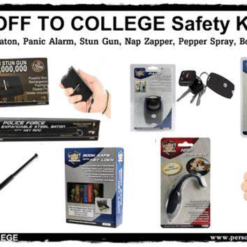 OFF TO COLLEGE Personal Safety Kit
