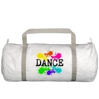 Dance Paint Gym Bag