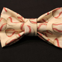 Large Baseball Hair Bow by AlexisCrafts95 on Etsy