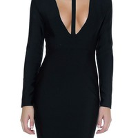 Dolce Black Bandage Dress