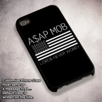 Asap Rocky Asap Mob - For iPhone 4/ 4S/ 5/ 5S/ 5SE/ 5C/ 6/ 6S/ 6 PLUS/ 6S PLUS/ 7/ 7 PLUS Case And Samsung Galaxy Case