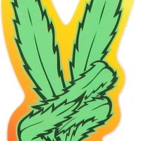Casual Industrees Victory Kelly Green Fade Sticker