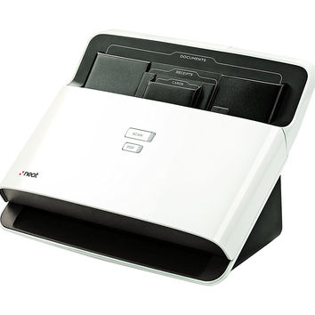 Desktop Document and Receipt Scanner and Digital Electronic Automatic Filing Organizer System