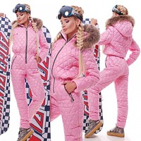 One Piece Ski Jumpsuit Sport And skiing