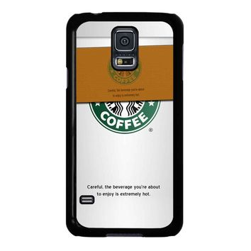 Starbucks Coffee Cup Samsung Galaxy S5 Case