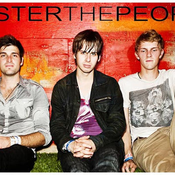Foster the People Band Poster 11x17