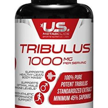 Tribulus 1000 mg 30 Tabs - Powerful Male Enhancement | Muscle Growth | Stamina | Boost Sexual Libido Health |...