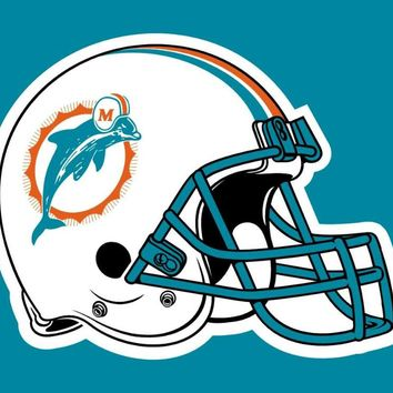 N*FL USA flag Miami Dolphins Flag 3ft x 5ft Very Cool decoration Helmet Flag