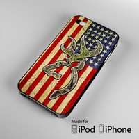 deer camo browning iPhone 4S 5S 5C 6 6Plus, iPod 4 5, LG G2 G3, Sony Z2 Case