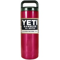 YETI Red Translucent 18 oz Rambler Bottle