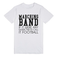 MARCHING BAND FOOTBALL T-SHIRT