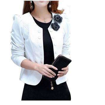 Long Sleeve Double Breasted Blazer Suit