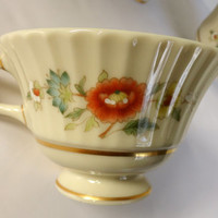 Lenox Temple Blossom Teacups/ Set of 4