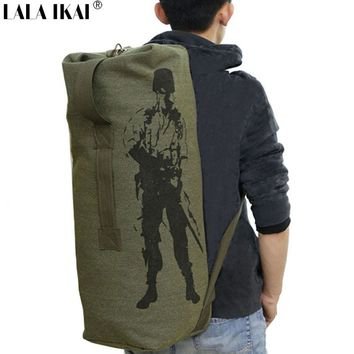 Outdoor Sports Bag Tactical Military Travel Luggage Mountain Rucksacks Camping Hiking Canvas Trekking Gym  Backpack YIN0079-5